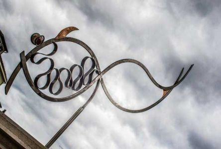 Géant des mers - Poisson en fer forgé d'Eric Litschky, atelier Fer et Matières
