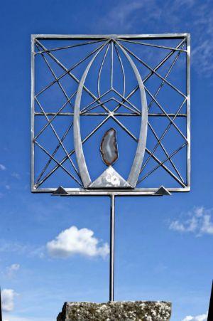Sculpture fer -  chryzode - Litschky