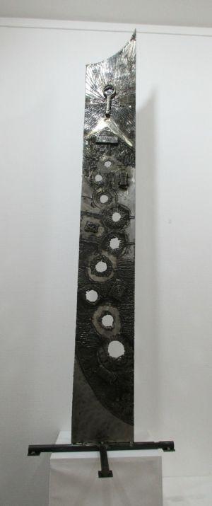 Sculpture fer Eric Litschky - atelier Fer et Matières