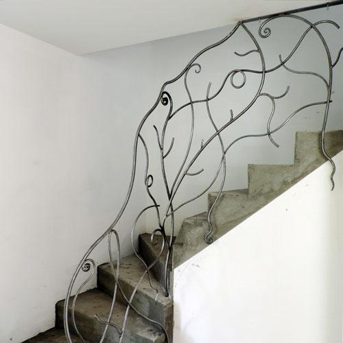 rambarde escalier fer forge atelier fer et mati res. Black Bedroom Furniture Sets. Home Design Ideas
