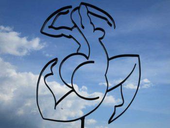 sculpture fer de Marie-Line Muller