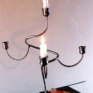 Four-branch candelabra