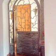 Interior separation door