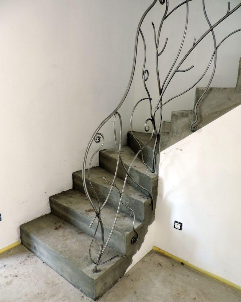 Rampe Escalier Fer Contemporain4 Atelier Fer Et Mati Res