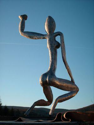 Sculpture plaquettes fer