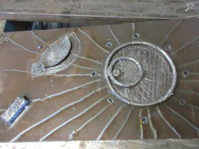 Sculpture fer Eric Litschky