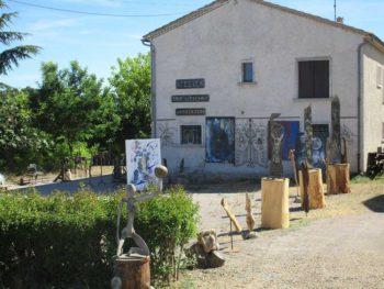 atelier expo fer forgé Eric Litschky - Saint-Michel l'Observatoire